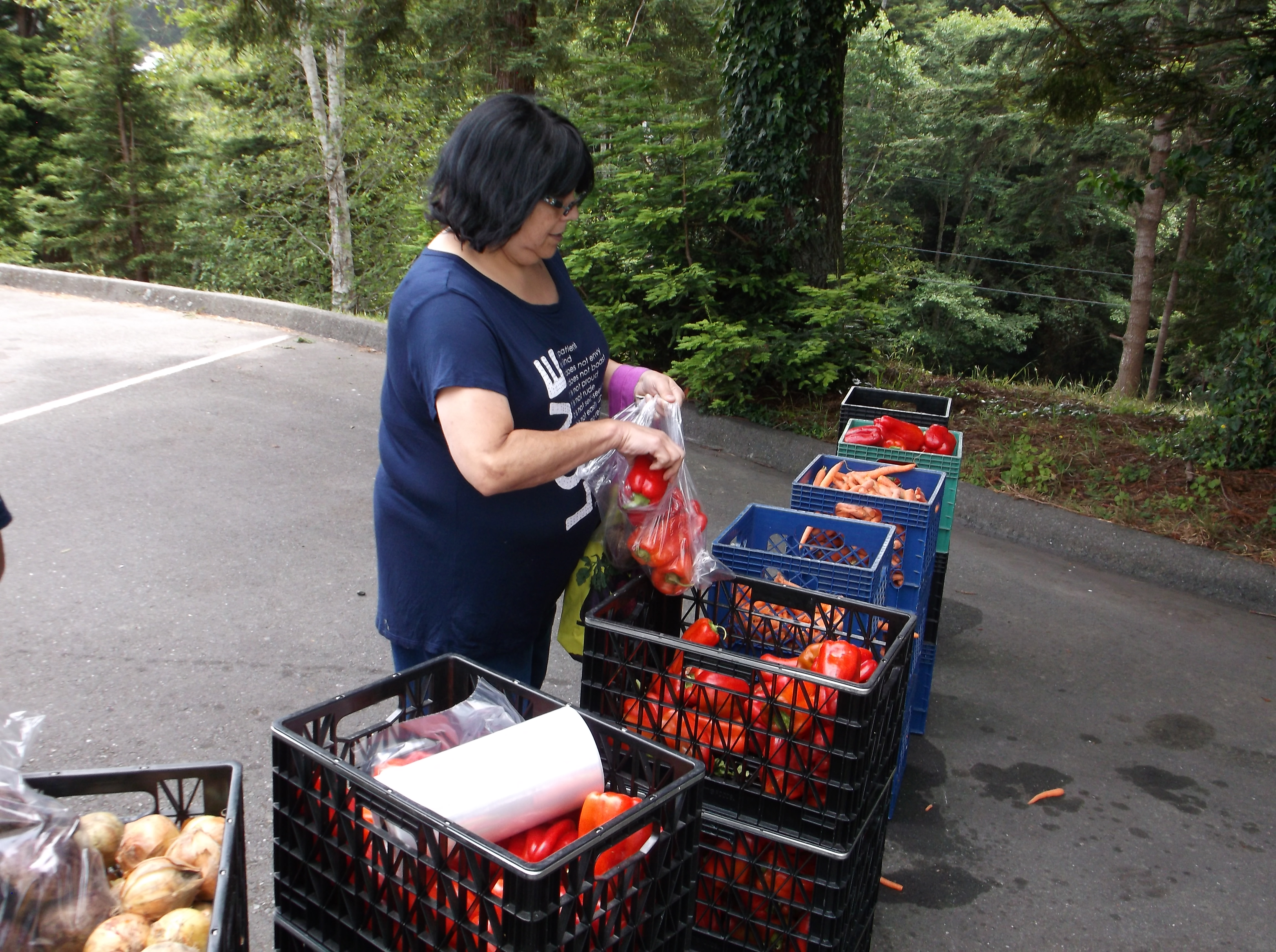 Fortuna Mobile Produce Pantry | Food for People