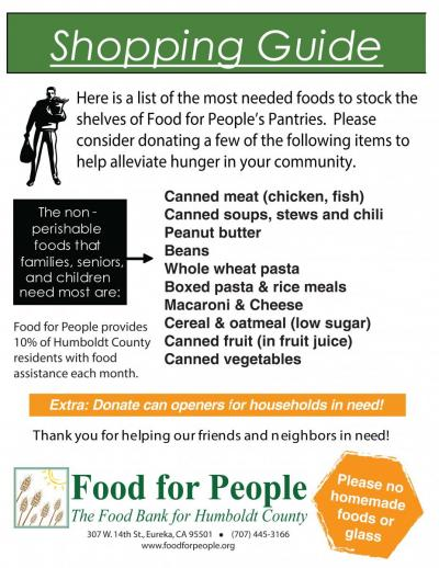 Food Drives – Food Drive Flyer Samples