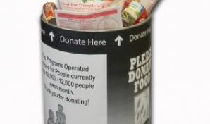 Food Donation Barrel