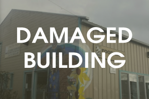 Updates on sewer damages to Food for People's main site