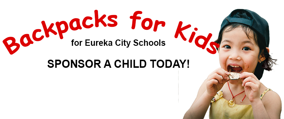 Backpacks for Kids, weekend hunger relief